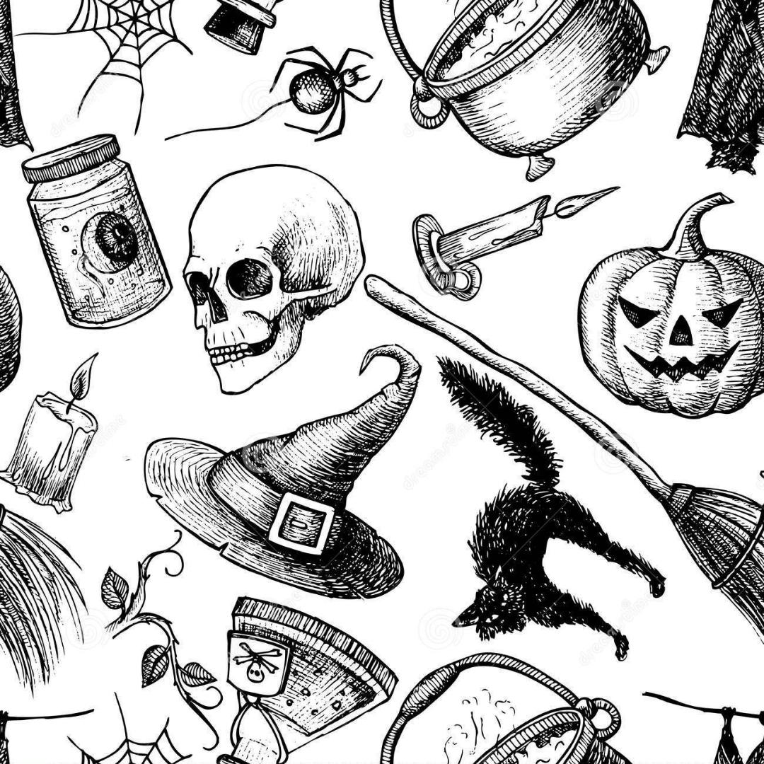 vintage halloween final